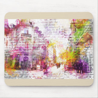 Wiesbaden, Germany. Decay text kind Mouse Pad