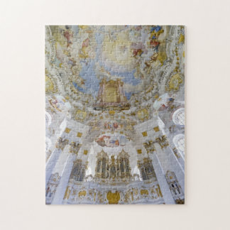 Wieskirche church ceiling puzzle