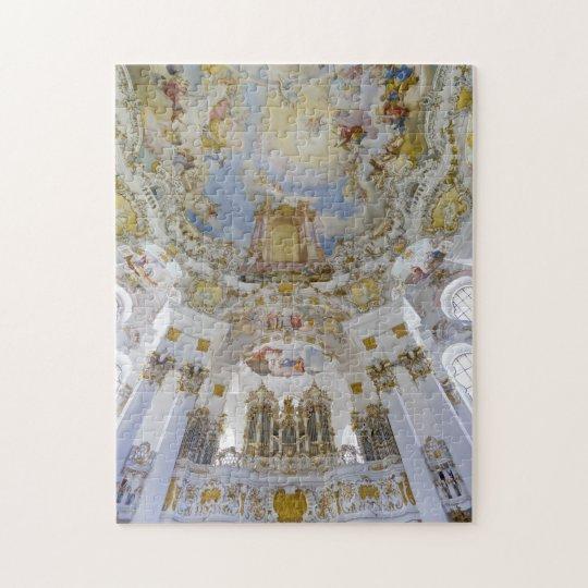 Wieskirche church ceiling puzzle