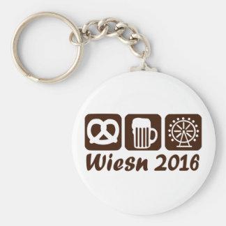 Wiesn Oktoberfest 2016 Basic Round Button Keychain