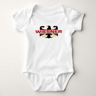 Wiesner Surname Baby Bodysuit