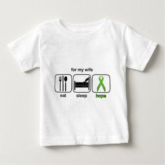 Wife Eat Sleep Hope - Lymphoma T-shirts