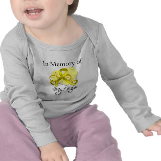 Wife - In Memory of Military Tribute T-shirt