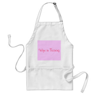 Wife in Training Apron