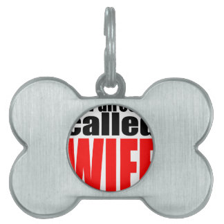 wife marriage joke director newlywed reality quote pet name tag