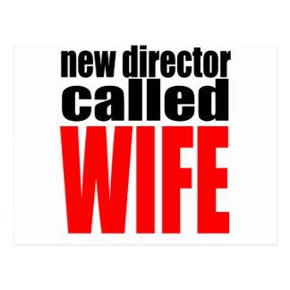 wife marriage joke director newlywed reality quote postcard