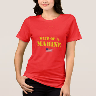 WIFE OF A MARINE T-Shirt