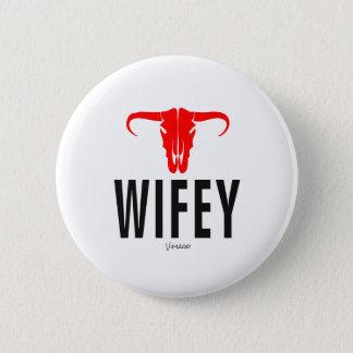 Wifey & Bull by VIMAGO 2 Inch Round Button