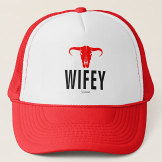 Wifey & Bull by VIMAGO Trucker Hat