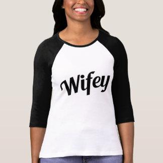 Wifey funny t-shirt