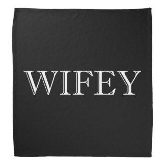 Wifey Married Couple Bandana