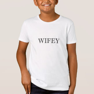 Wifey Married Couple T-Shirt