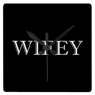 Wifey Married Couple Wallclocks