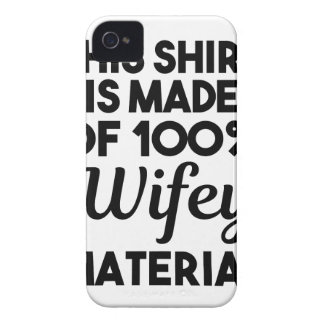 Wifey Material iPhone 4 Covers