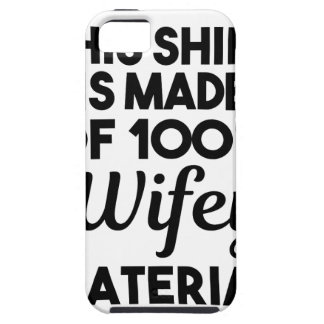 Wifey Material iPhone 5 Cover