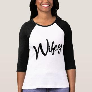 Wifey Raglan Tee