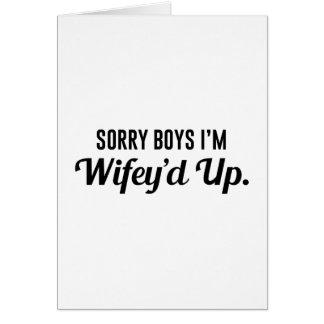 Wifey'd Up Card