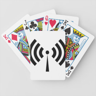 Wifi Signal Bicycle Playing Cards