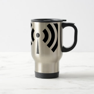 Wifi Signal Travel Mug