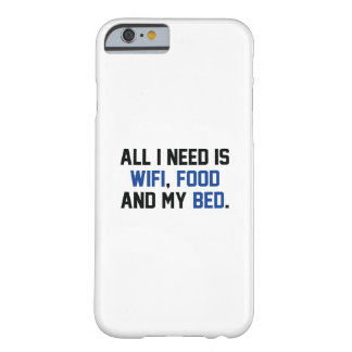 WifiFoodBed1C Barely There iPhone 6 Case