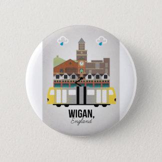 Wigan 2 Inch Round Button
