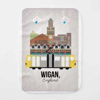 Wigan Burp Cloth