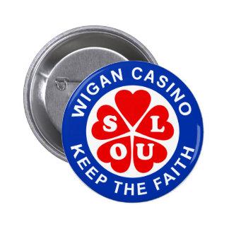 Wigan Casino Keep The Faith 2 Inch Round Button