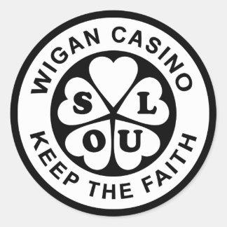 Wigan Casino Keep The Faith Round Sticker