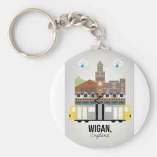 Wigan Keychain