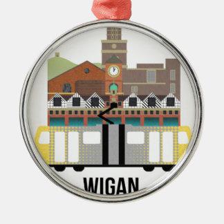 Wigan Metal Ornament
