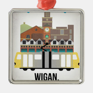 Wigan Metal Ornament