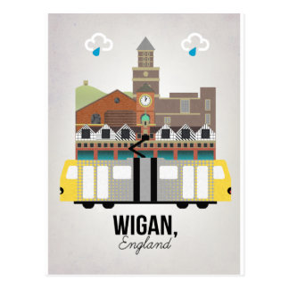 Wigan Postcard