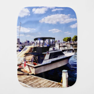 Wiggins Park Marina Burp Cloth