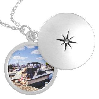Wiggins Park Marina Locket Necklace
