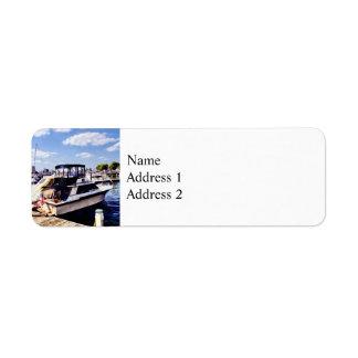 Wiggins Park Marina Return Address Label