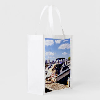 Wiggins Park Marina Reusable Grocery Bag