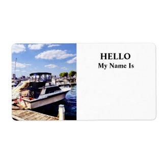 Wiggins Park Marina Shipping Label