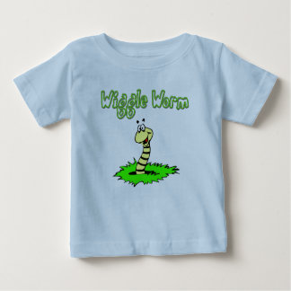 Wiggle Worm Baby T-Shirt