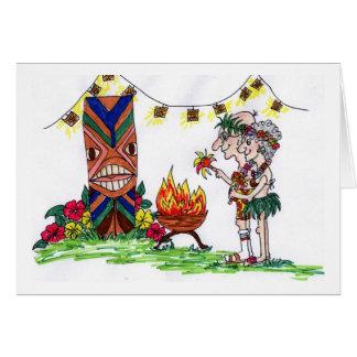 Wigglesworths at the luau card