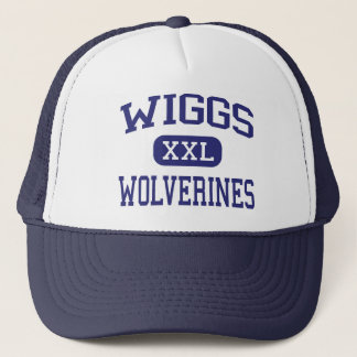 Wiggs Wolverines Middle School El Paso Texas Trucker Hat