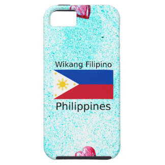 Wikang Filipino Language And Philippines Flag iPhone 5 Cover