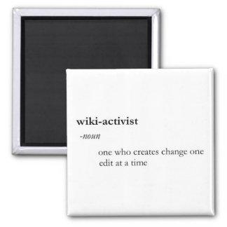 Wiki-activist Magnet