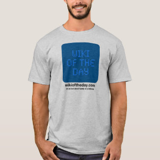 Wiki of the Day Men's T-shirt