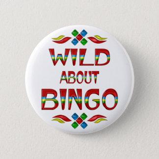 Wild About Bingo 2 Inch Round Button