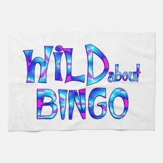 Wild About Bingo Kitchen Towel