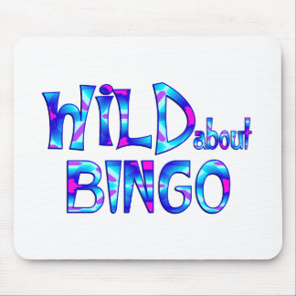 Wild About Bingo Mouse Pad