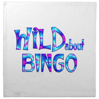 Wild About Bingo Napkin