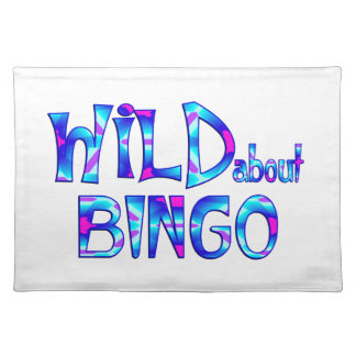 Wild About Bingo Placemat