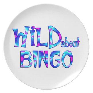 Wild About Bingo Plate