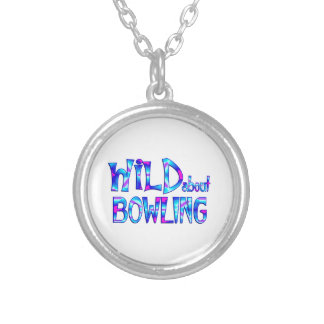 Wild About Bowling Silver Plated Necklace